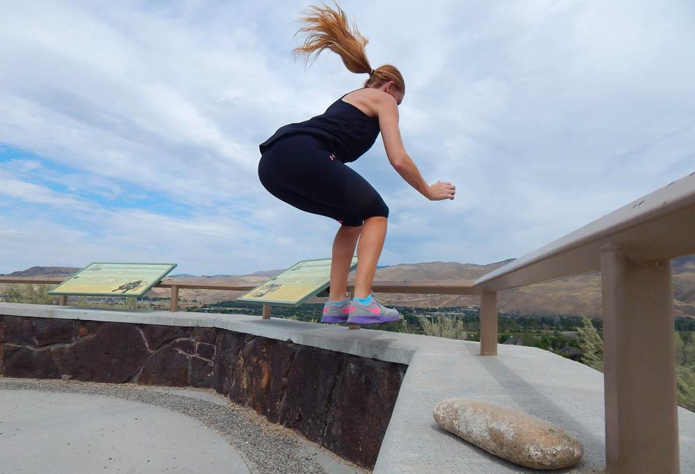 Lacey Box Jump   DitchingNormal