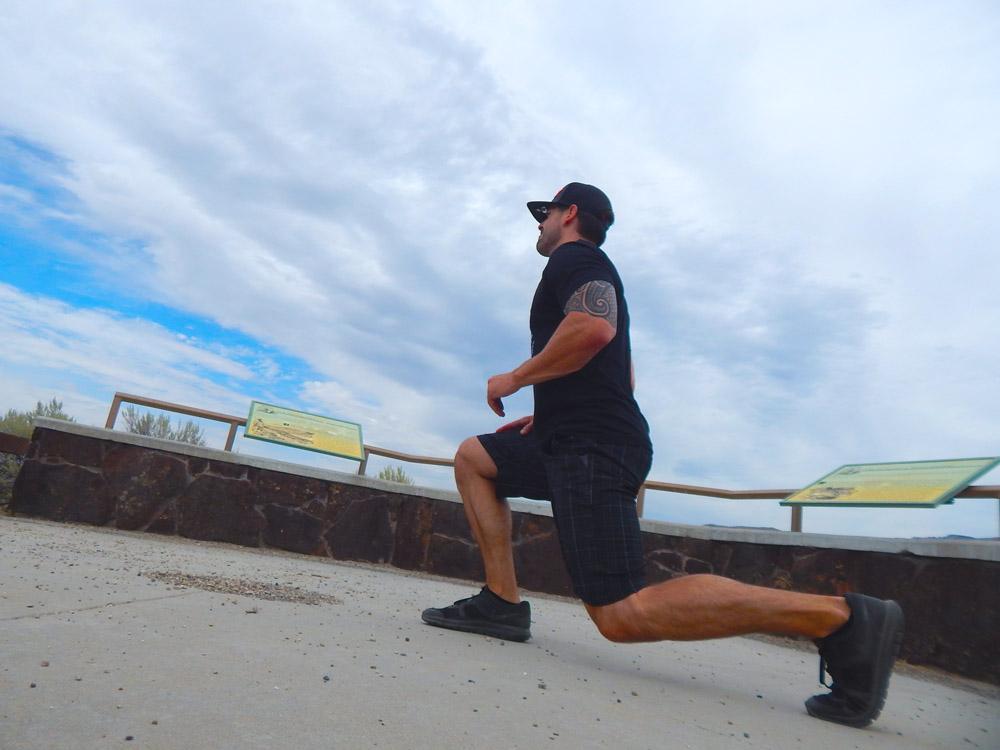 Jump Lunge   DitchingNormal