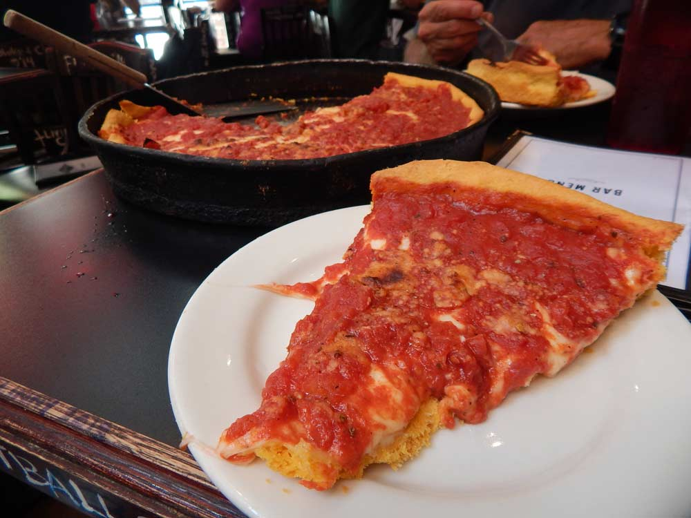 Gino's East Chicago Style Pizza | DitchingNormal