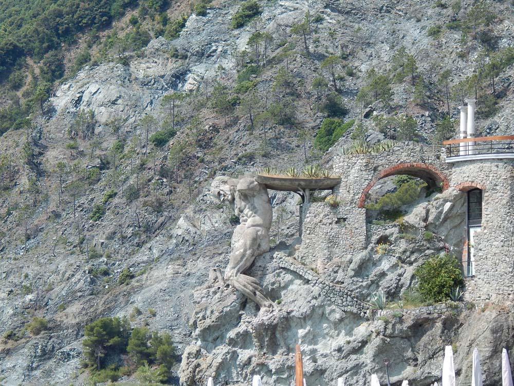 Cliff Sculpture