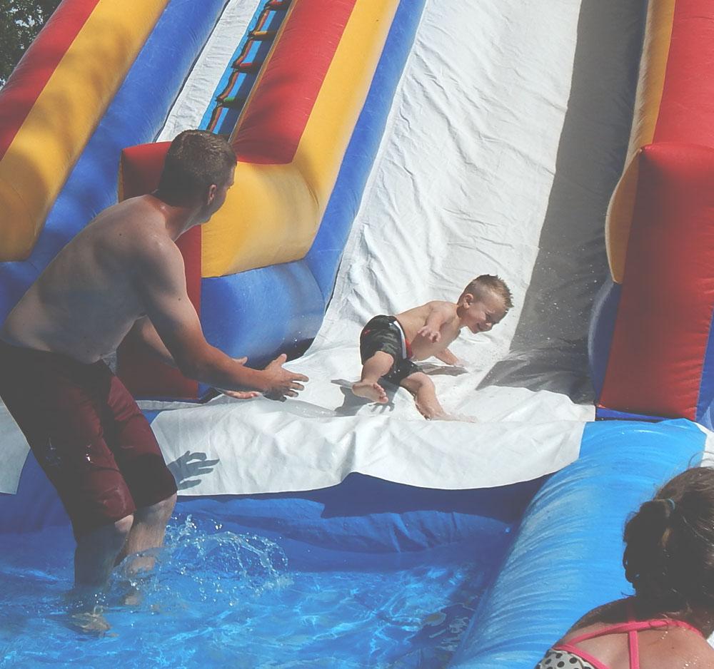 Baby Water Slide   DitchingNormal