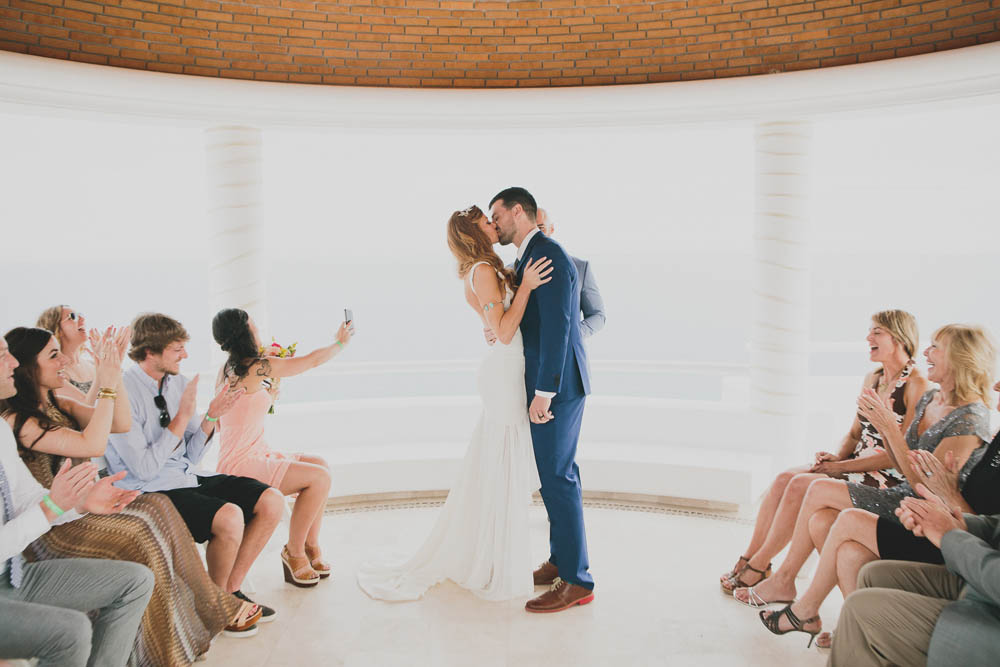Mat and Lacey Kiss the Bride   Ditching Normal