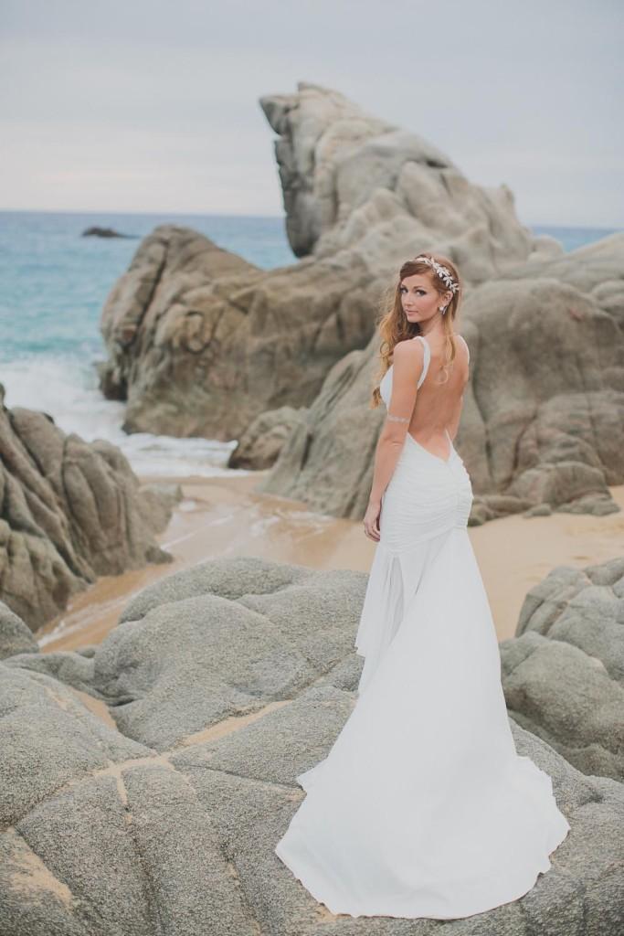 Bride Wedding Dress Beach   Ditching Normal
