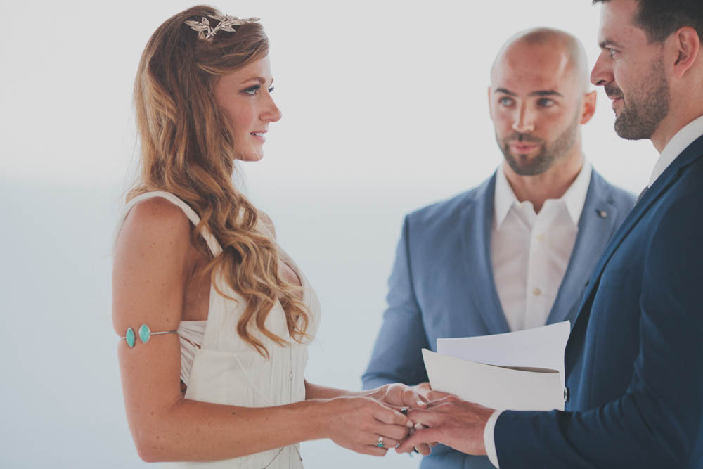 Bride and Groom Ring exchange   Ditching Normal