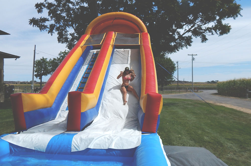 Lacey Water Slide | DitchingNormal