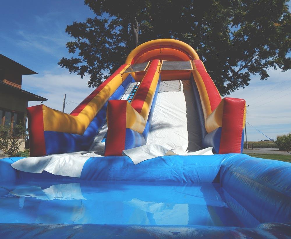 Birthday Water Slide   DitchingNormal
