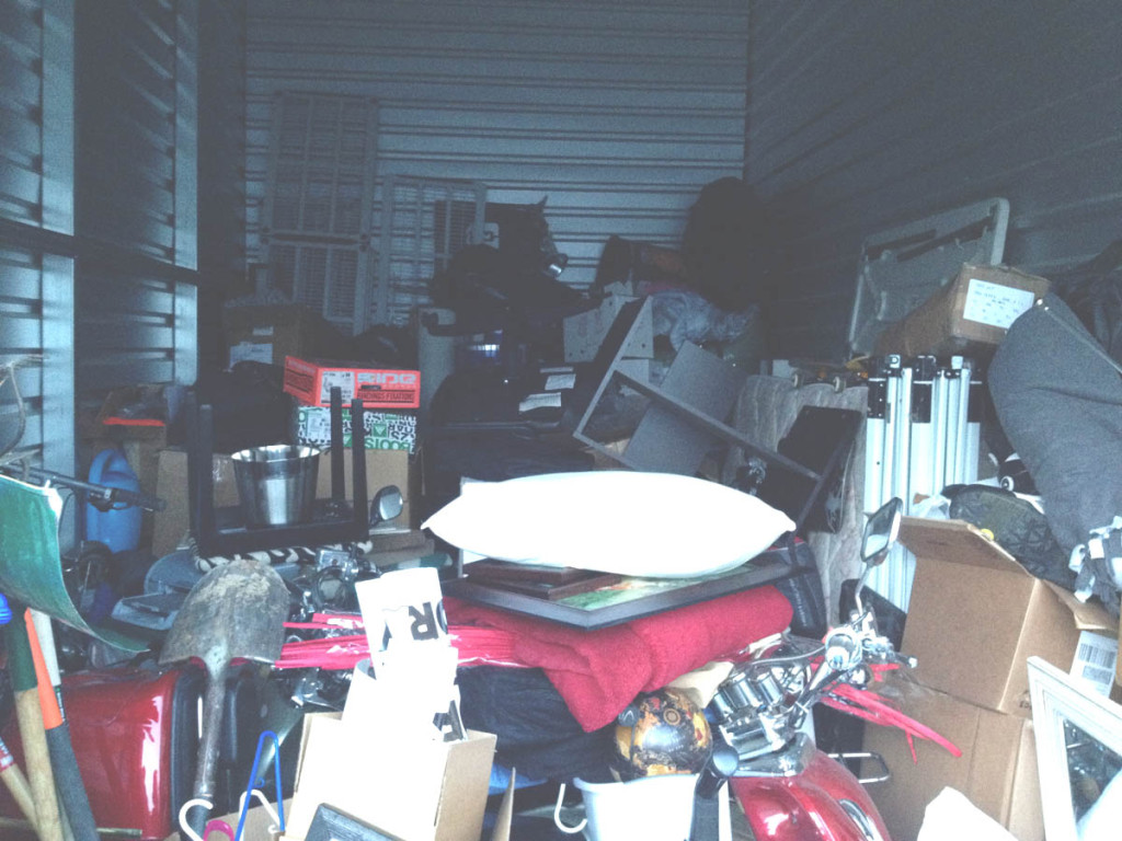 Full Storage Unit   Ditching Normal