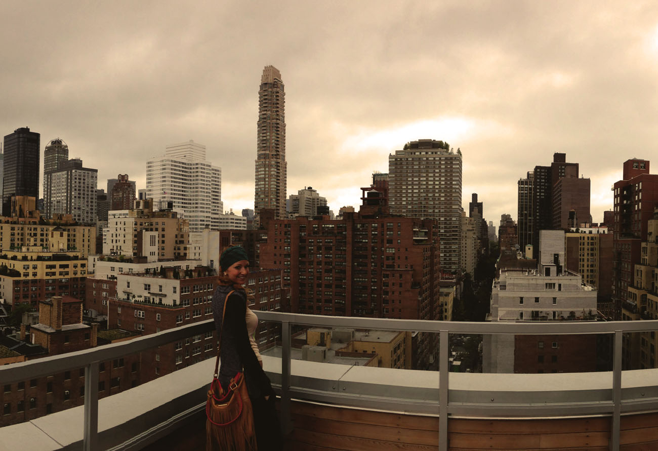 Lacey New York City Skyline