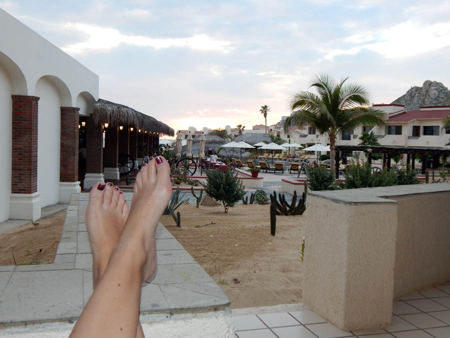 Porch-Toes-Solmar Resort