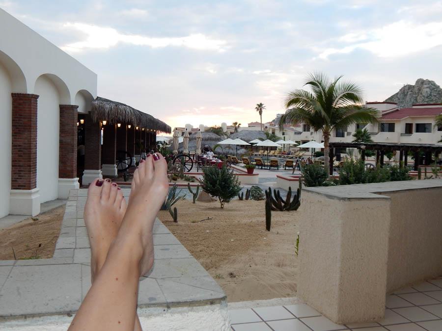Porch-Toes-Solmar Resort