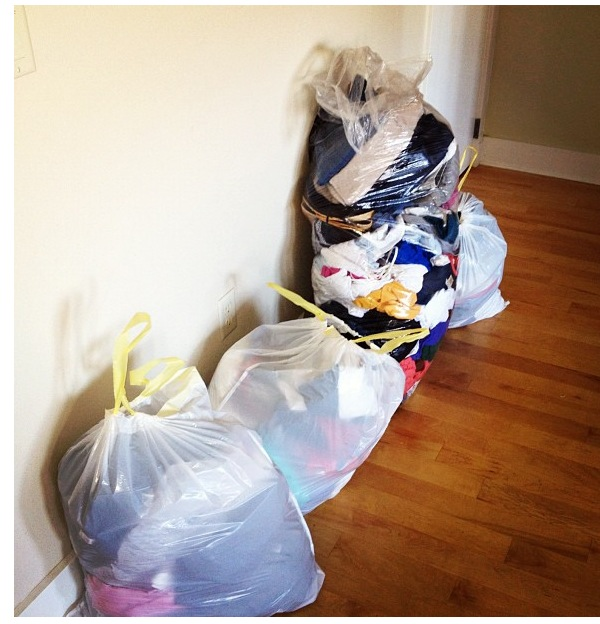 Donation Bags | Ditching Normal