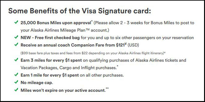 Alaska Airlines Rewards Card