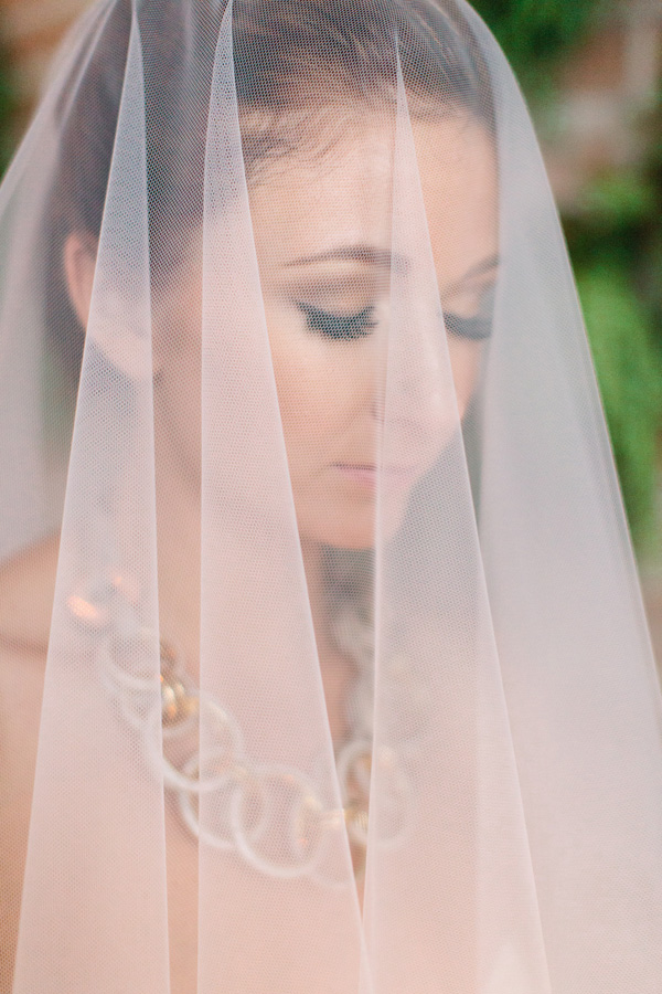 Bride Veil Eyelashes
