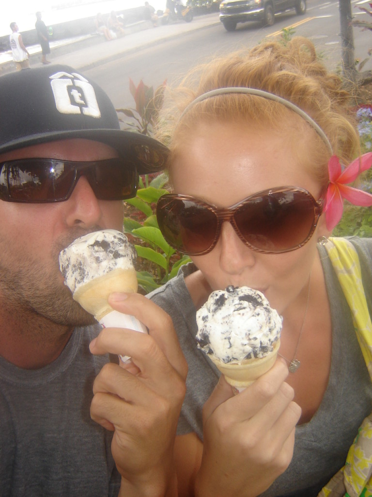 Ice cream in Kona