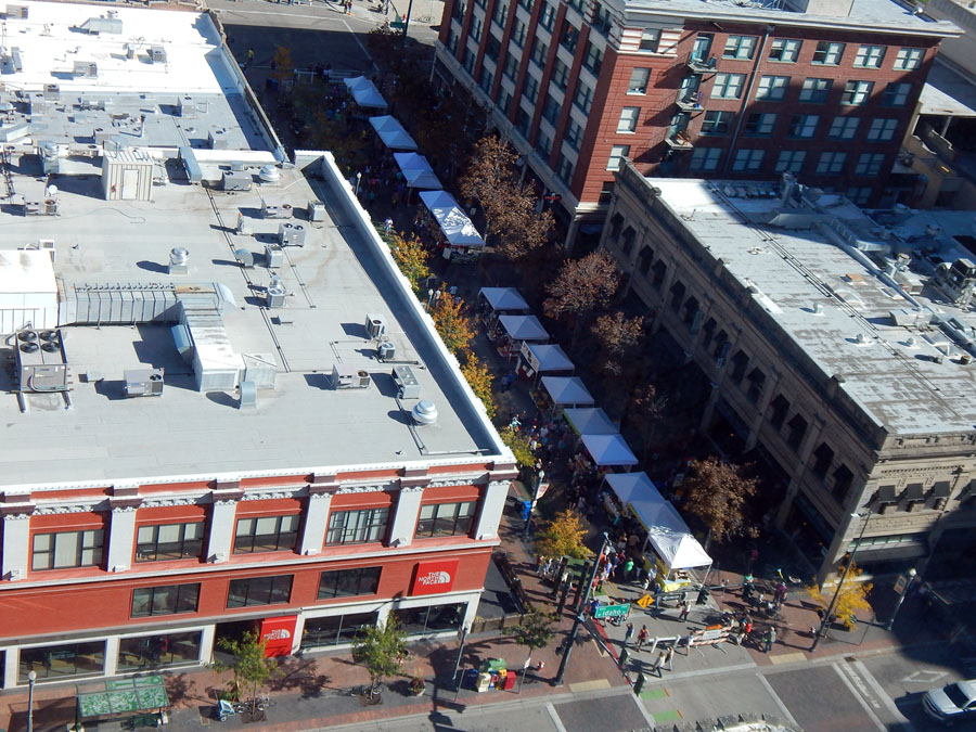 Farmer's market in downtown Boise