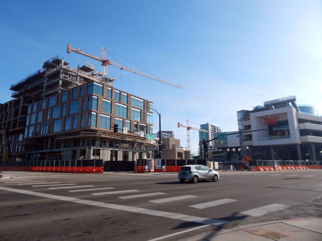 Jump Center Construction Downtown Boise