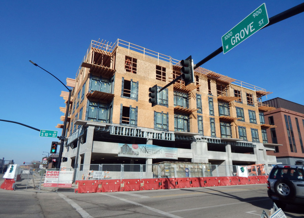 One Nineteen Condos in downtown Boise
