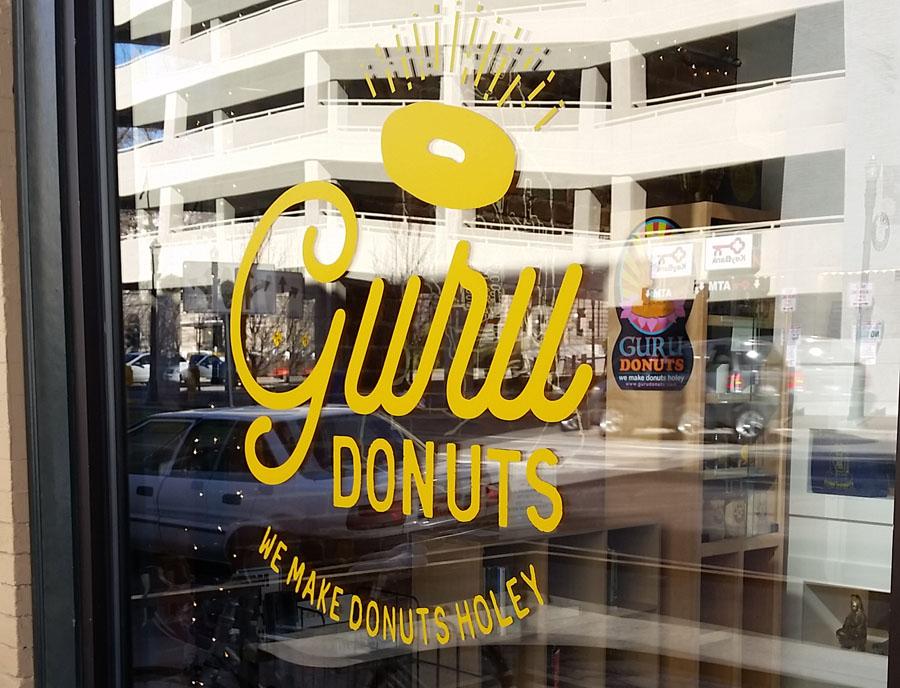 Guru Donuts Entrance