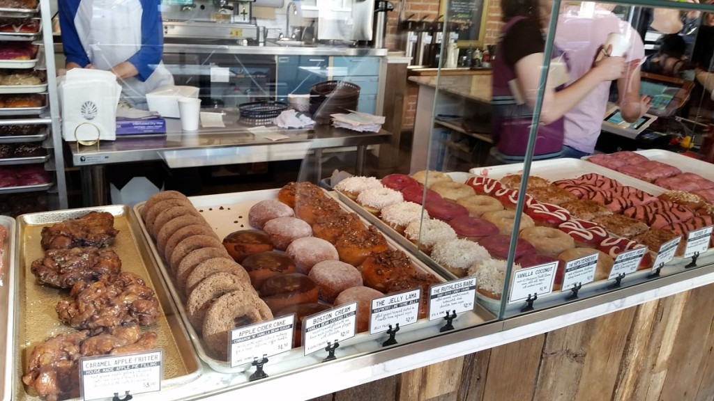 Guru Donuts Selection