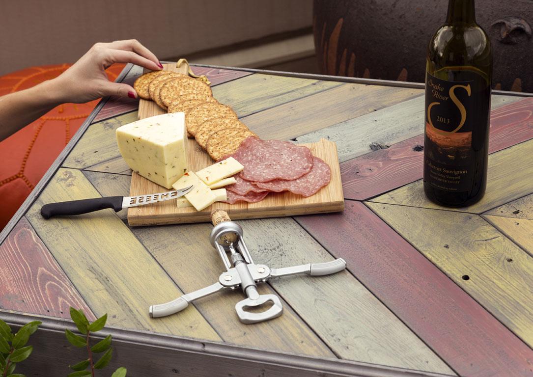 Wine, Cheese, Crackers, Date Night Boise, ID
