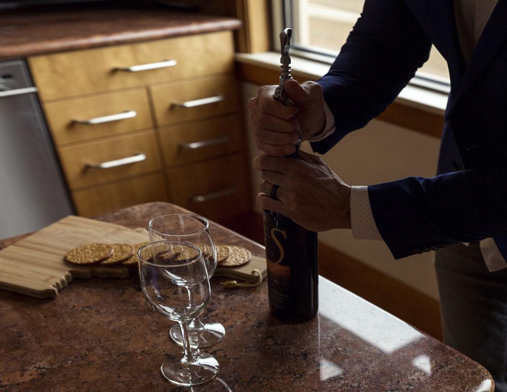 Wine Opening Boise Date Night