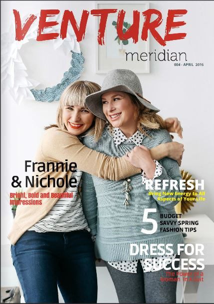 Venture Meridian Magazine April 2016