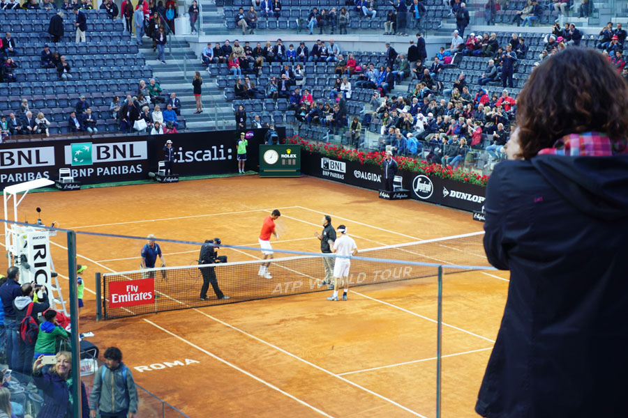 Rome and the Italian Open