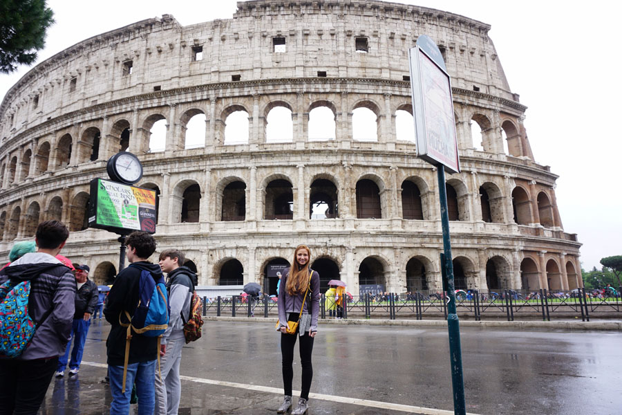 roman colosseum Rome, Italy