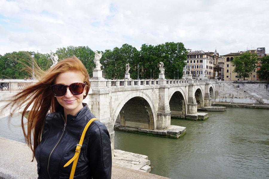 ponte sant'angelo Roman, Italy