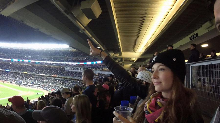 Weekend in New York Yankee Redsox Game