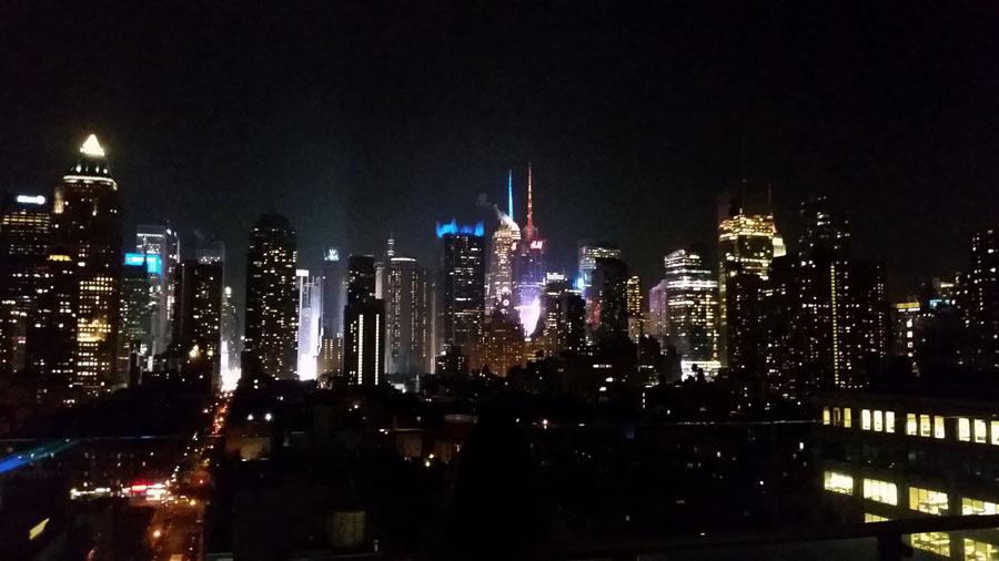 Weekend in New York City skyline
