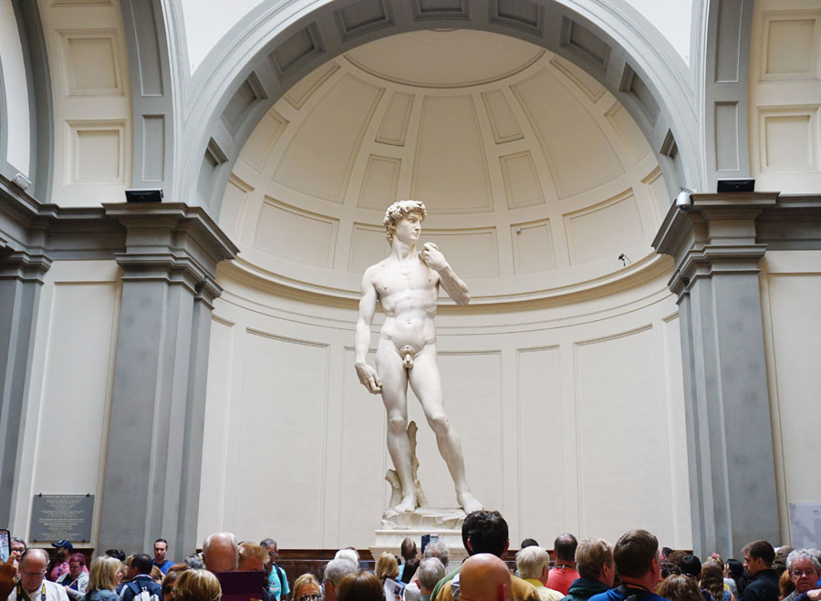 The David Florence, Italy