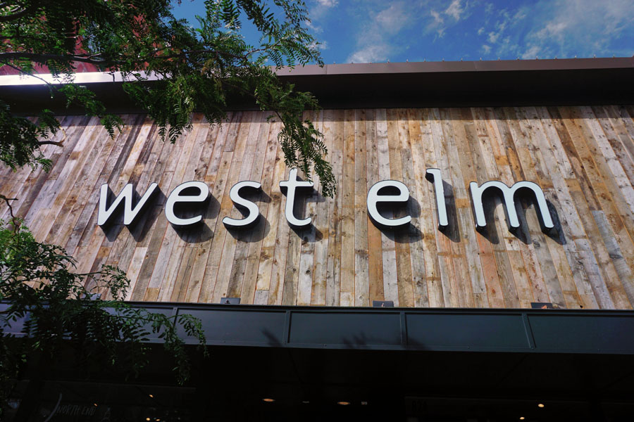 west elm boise id grand opening review ditchingnormal. Black Bedroom Furniture Sets. Home Design Ideas