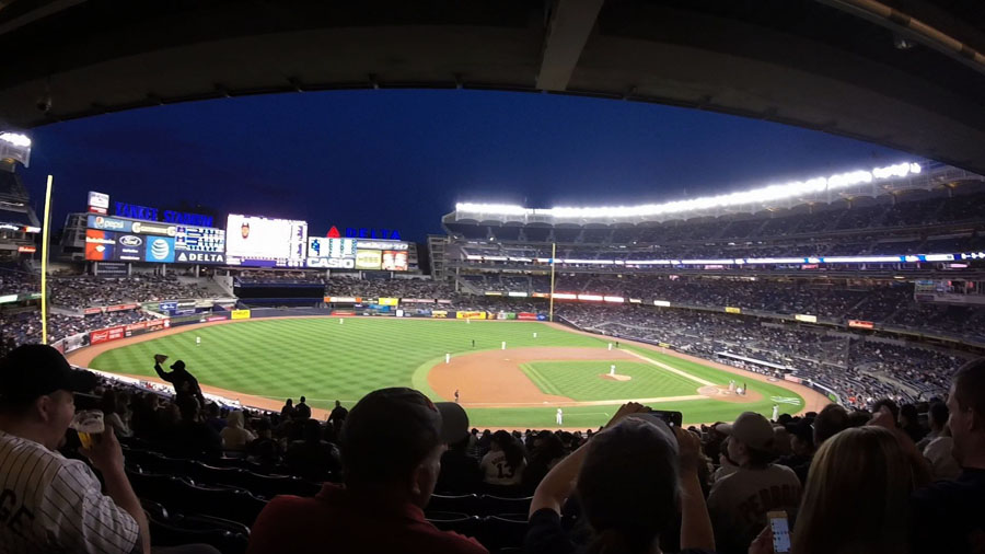 Weekend in New York City at Yankee Stadium