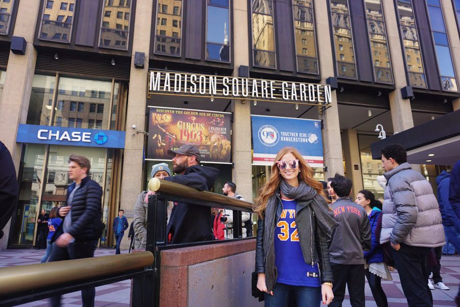 Madison Square Garden Lacey