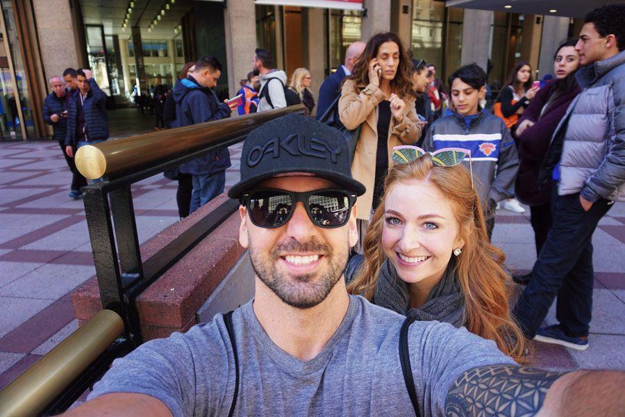 Madison Square Garden Selfie