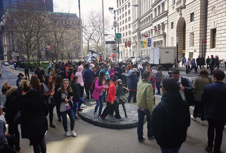Fearless Girl Wall St
